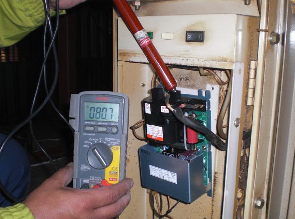 STEP4 空気清浄機の試運転